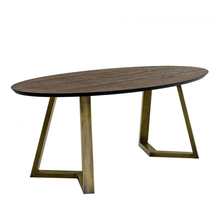 Τραπέζι δείπνου Dexter Oval