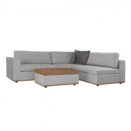 Γωνιακός πολυμορφικός καναπές Nordic