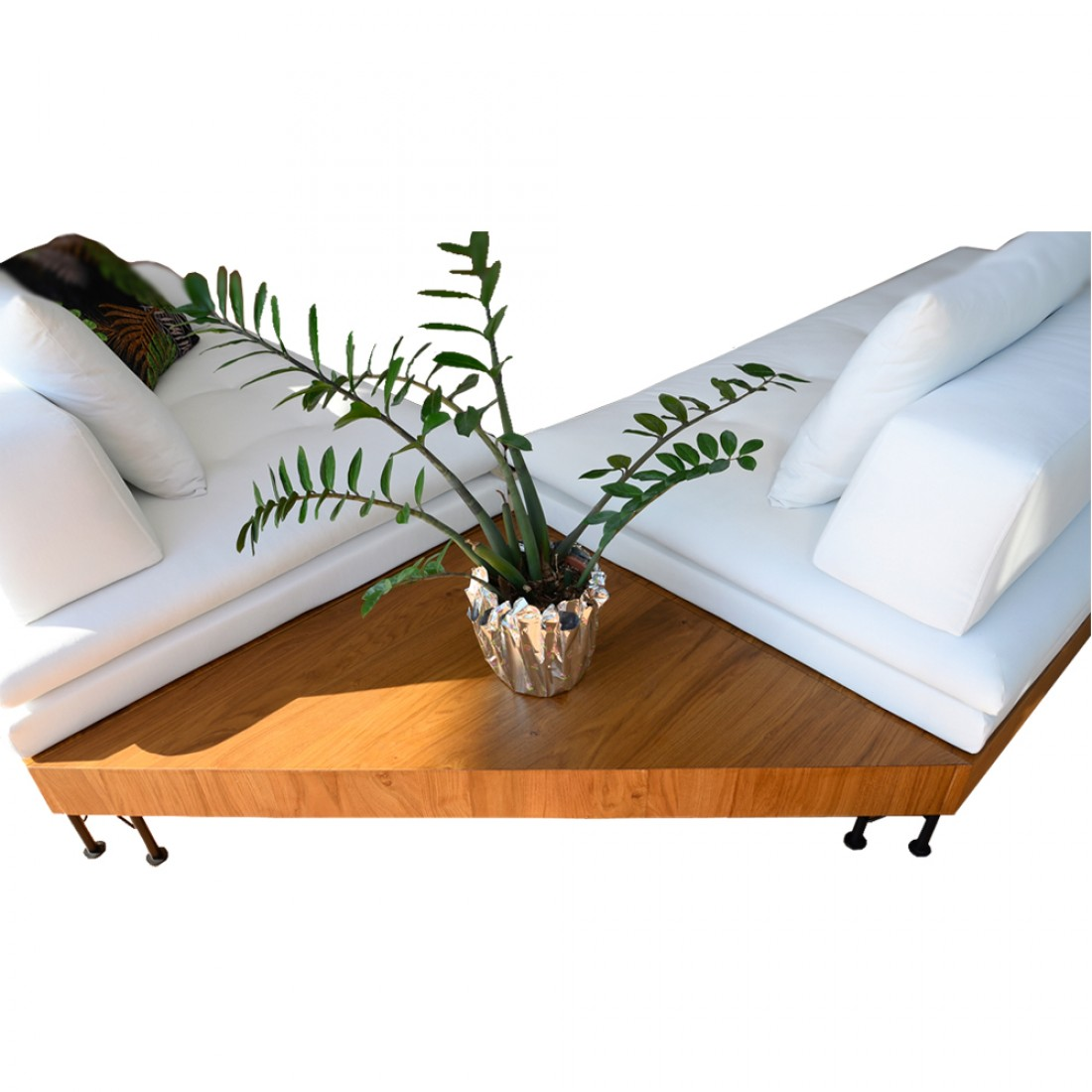 Καναπές γωνία Palm