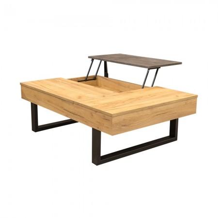 Τραπέζι σαλονιού Service Rustic