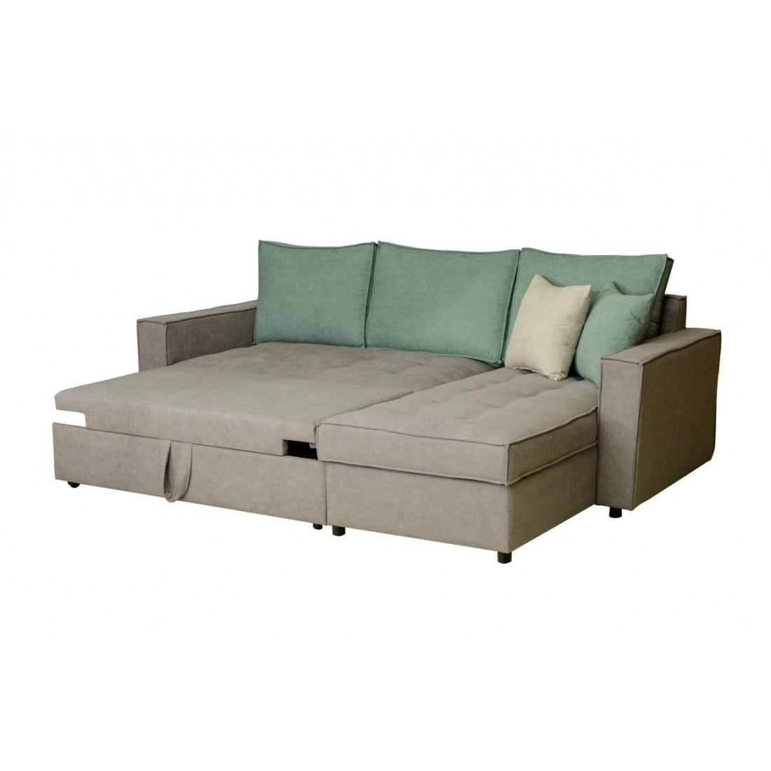 Γωνιακός καναπές κρεβάτι Sunny