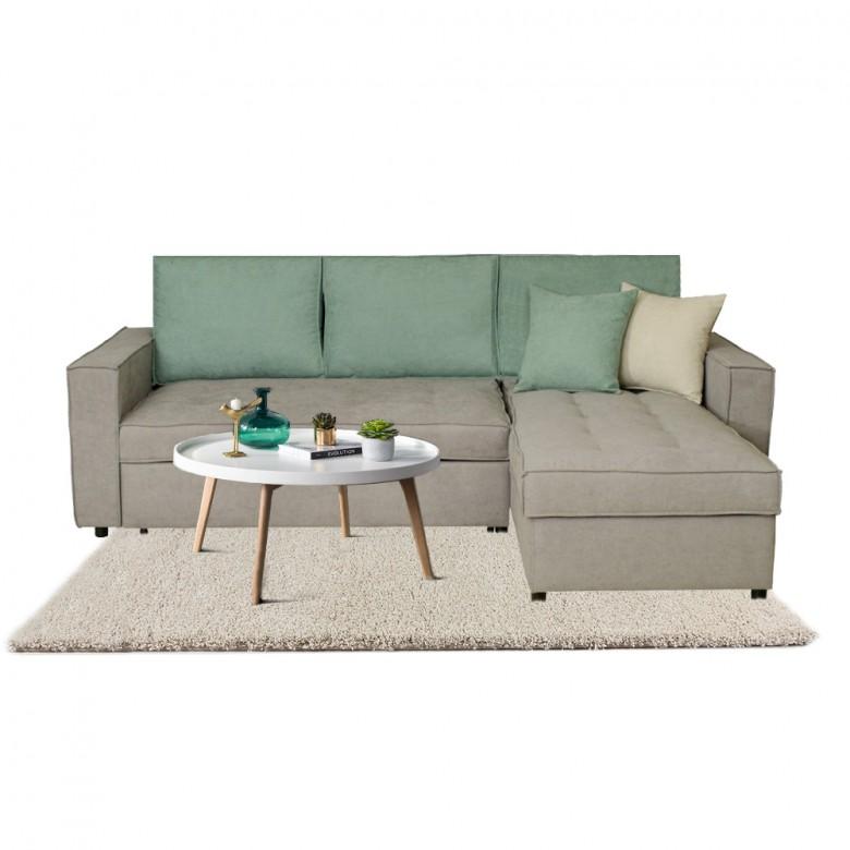 Καναπές γωνία κρεβάτι Sunny