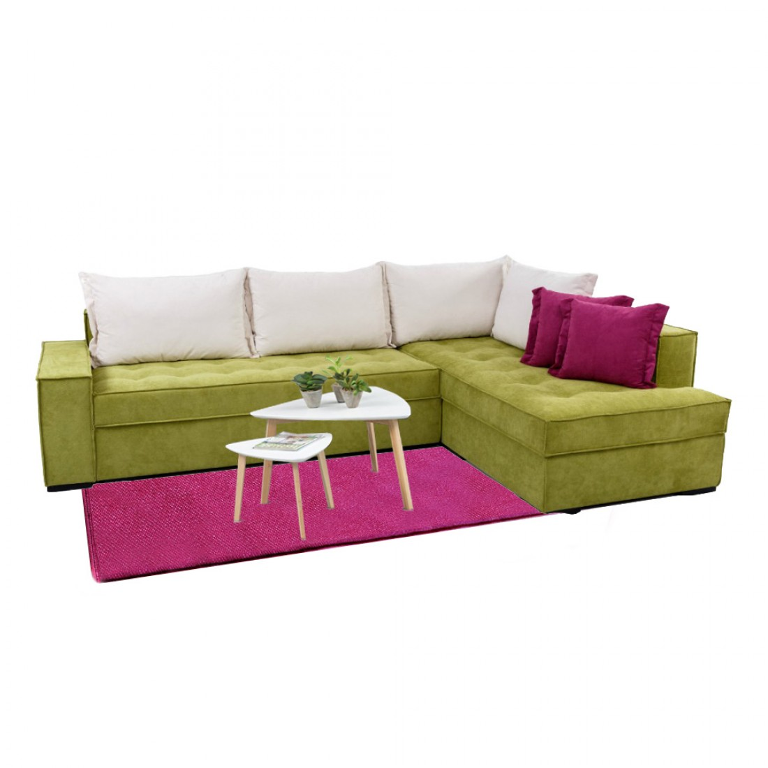 Γωνιακός καναπές κρεβάτι Van